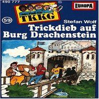 Cover Hörspiel / TKKG - 059. Trickdieb auf Burg Drachenstein