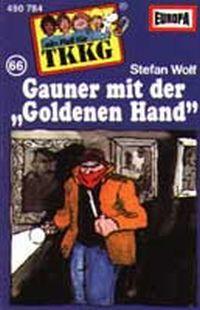 """Cover Hörspiel / TKKG - 066. Gauner mit der """"Goldenen Hand"""""""