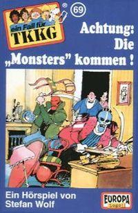 "Cover Hörspiel / TKKG - 069. Achtung! Die ""Monsters"" kommen"