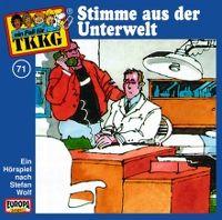 Cover Hörspiel / TKKG - 071. Stimme aus der Unterwelt