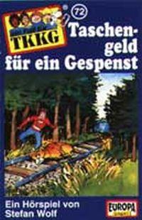 Cover Hörspiel / TKKG - 072. Taschengeld für ein Gespenst