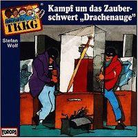 """Cover Hörspiel / TKKG - 088. Kampf um das Zauberschwert """"Drachenauge"""""""