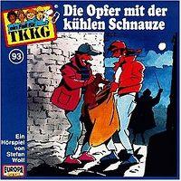 Cover Hörspiel / TKKG - 093. Die Opfer mit der kühlen Schnauze