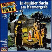 Cover Hörspiel / TKKG - 094. In dunkler Nacht am Marmorgrab