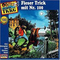 Cover Hörspiel / TKKG - 100. Fieser Trick mit Nr. 100
