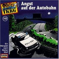 Cover Hörspiel / TKKG - 102. Angst auf der Autobahn