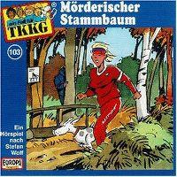 Cover Hörspiel / TKKG - 103. Mörderischer Stammbaum