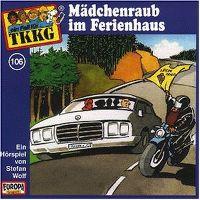 Cover Hörspiel / TKKG - 106. Mädchenraub im Ferienhaus
