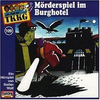 Cover Hörspiel / TKKG - 109. Mörderspiel im Burghotel