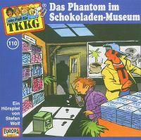 Cover Hörspiel / TKKG - 110. Das Phantom im Schokoladen-Museum