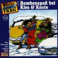 Cover Hörspiel / TKKG - 112. Bombenspaß bei Kies & Knete