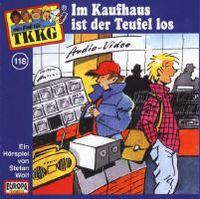 Cover Hörspiel / TKKG - 118. Im Kaufhaus ist der Teufel los