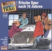 Cover Hörspiel / TKKG - 119. Frische Spur nach 70 Jahren
