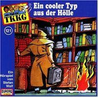 Cover Hörspiel / TKKG - 121. Ein cooler Typ aus der Hölle