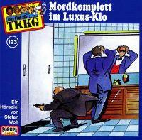 Cover Hörspiel / TKKG - 123. Mordkomplott im Luxus-Klo