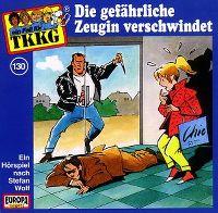Cover Hörspiel / TKKG - 130. Die gefährliche Zeugin verschwindet