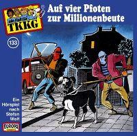 Cover Hörspiel / TKKG - 133. Auf vier Pfoten zur Millionenbeute