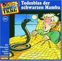 Cover Hörspiel / TKKG - 141. Todesbiss der schwarzen Mamba