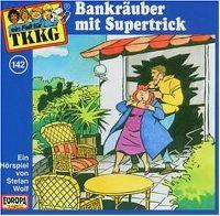 Cover Hörspiel / TKKG - 142. Bankräuber mit Supertrick