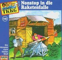 Cover Hörspiel / TKKG - 146. Nonstop in die Raketenfalle