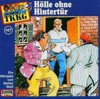 Cover Hörspiel / TKKG - 147. Hölle ohne Hintertür