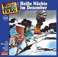 Cover Hörspiel / TKKG - 150. Heiße Nächte im Dezember