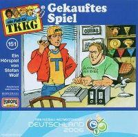 Cover Hörspiel / TKKG - 151. Gekauftes Spiel