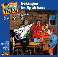 Cover Hörspiel / TKKG - 155. Gefangen im Spukhaus