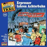 Cover Hörspiel / TKKG - 156. Erpresser fahren Achterbahn