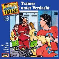 Cover Hörspiel / TKKG - 158. Trainer unter Verdacht