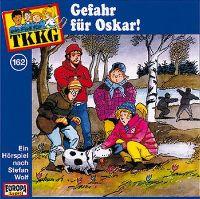 Cover Hörspiel / TKKG - 162. Gefahr für Oskar!