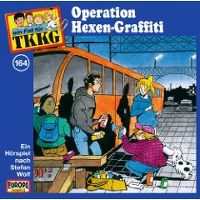 Cover Hörspiel / TKKG - 164. Operation Hexen-Graffiti