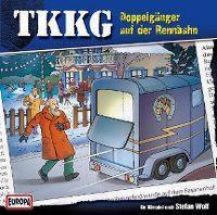 Cover Hörspiel / TKKG - 174. Doppelgänger auf der Rennbahn