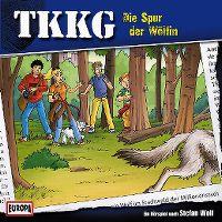 Cover Hörspiel / TKKG - 177. Die Spur der Wölfin