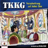 Cover Hörspiel / TKKG - 204. Verschwörung auf hoher See