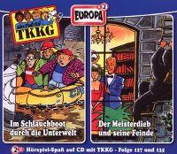 Cover Hörspiel / TKKG - Im Schlauchboot durch die Unterwelt / Der Meisterdieb und seine Feinde