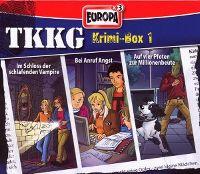 Cover Hörspiel / TKKG - Krimi-Box 1