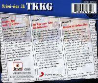 Cover Hörspiel / TKKG - Krimi-Box 20