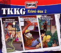 Cover Hörspiel / TKKG - Krimi-Box 2