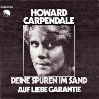 Cover Howard Carpendale - Deine Spuren im Sand
