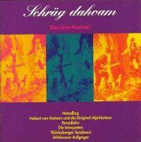 Cover Hubert von Goisern und die Alpinkatzen - Schräg dahoam - Das Live Festival