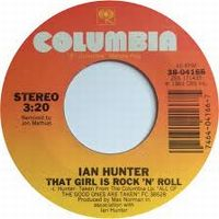 Cover Ian Hunter - That Girl Is Rock 'N' Roll