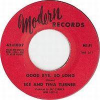 Cover Ike & Tina Turner - Goodbye, So Long