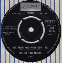 Cover Ike & Tina Turner - I'll Never Need More Than This
