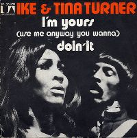 Cover Ike & Tina Turner - I'm Yours (Use Me Any Way You Wanna)