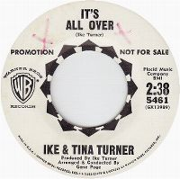 Cover Ike & Tina Turner - It's All Over