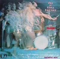 Cover Ike & Tina Turner - Live In Paris