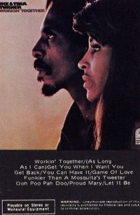 Cover Ike & Tina Turner - Workin' Together