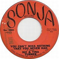 Cover Ike & Tina Turner - You Can't Miss Nothing That You Never Had