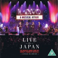 Cover Il Divo - A Musical Affair - Live In Japan